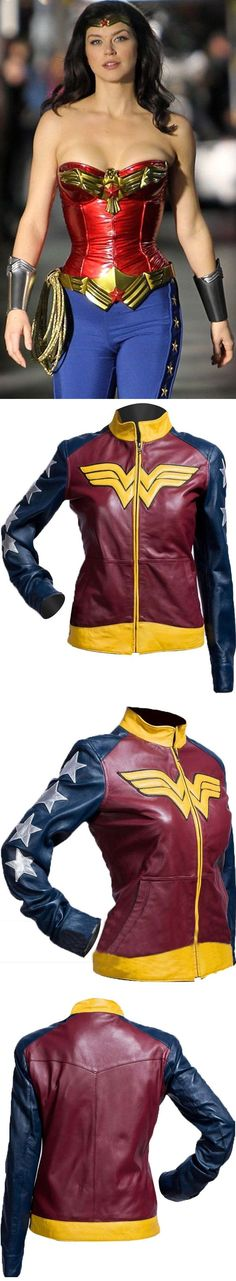Inspired From Hollywood Famous American Actress Adrianne Palicki. Smart Seller Created Adrianne Palicki Wonder Woman Jacket for Girls. Made From Soft Synthetic Leather. Adrianne Palicki Worn This Stylish Costume in Movie Wonder Woman (2011 TV Movie).  Available at Our Online Store in Discounted Price.  #adriannepalicki #wonderwoman #womenbikers #bikergirls #girlsfashion #womenfashion #womencollection #parties #casual #womenswear #love #styles #fashionblog #streetstyle #bikers #ravishing…