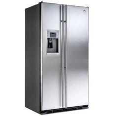 GENERAL ELECTRIC - RCE24KGFSS _ Réfrigérateur Américain - Réfrigérateur No-Frost : 404 L - Clayettes verre coulissantes - Bac à légumes à humidité contrôlée - Bac à température réglable - Eclairage LED. Congélateur No-Frost : 168 L - 2 casiers amovibles - 3 clayettes métaliques - Eclairage LED. Distributeur 3 fonctions (eau - glace pilée - glaçons) - Filtre à eau intégré - Technologie FrostGard - Régulation électronique - Compresseur Inverter - Alarmes sonore et visuelle
