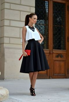 nice 5 beautiful Valentine's day outfits with skirts