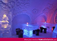 Restaurant of Snow and Ice in Kemi, Finland