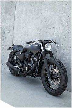 CAFE RACER ALL BLACK