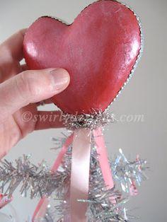 Heart Tree Topper DIY