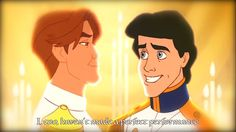 This Disney edit gives the princes their own gay love story