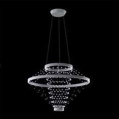 34f0841d9 Strandelier I Suspension Pendant Chandelier, Chandelier Lighting, Crystal  Chandeliers, Light Up, Swarovski