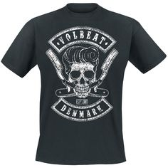 Volbeat shirt, really like the hair on the skull.