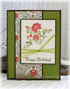 Vintage Happy Birthday version 2 by taylorsil - Cards and Paper Crafts at Splitcoaststampers