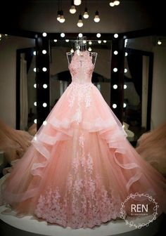 Cute Dresses For After Prom Cute Prom Dresses, Ball Dresses, Pretty Dresses, Homecoming Dresses, Wedding Dresses, Wedding Bridesmaids, Sparkly Dresses, Ball Gowns Prom, Light Pink Dresses