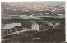 Undated Unused Postcard Telemarken Haukelidsaeter Village in Mountains…