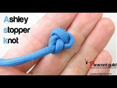 How to tie the Ashley stopper knot - Paracord guild