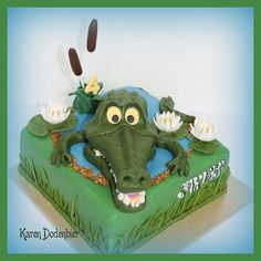 Mr Crocodile  Cake by dutchcakes