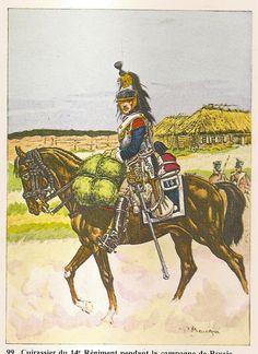 Corazziere del 14 rgt. corazzieri francesi