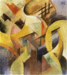 Franz Marc | Small Composition I
