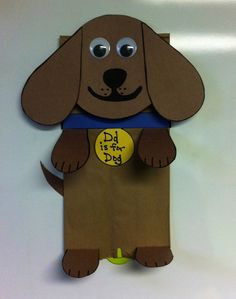 1000 images about paper bag ideas for kids on pinterest for Dog craft ideas
