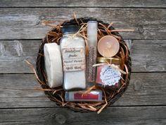 Fall Spices-Spa Gift Basket-Sweet Treats-Soy von SandyLandStudio