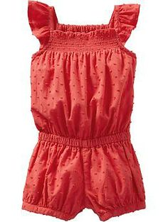 Swiss Dot Rompers for Baby | Old Navy
