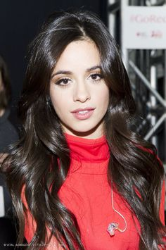Camila Cabello (Fifth Harmony) – Photographed by VITAL AGIBALOW for RED FOR WOMEN – RED DRESS FALL WINTER 2015 COLLECTIONS MERCEDES-BENZ FASHION WEEK in New York | http://www.vitalagibalow.com