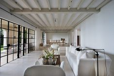 Celebrity Homes |Calvin Klein's Axel Vervoordt designed house