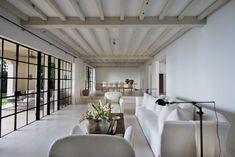 Calvin Klein's Axel Vervoordt designed living room #westofmay