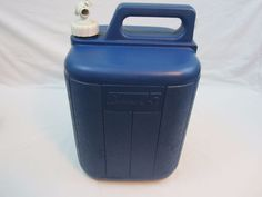 Coleman Camping Picnic 5 Gallon Water Carrier Containers with Spigot & Handle for sale online Coleman Camping, Hiking Outdoor, Picnic, Container, Bottle, Water, Blue, Ebay, Gripe Water