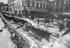 Alluvione 1966 - sventramento di Piazza dei Cavalleggeri