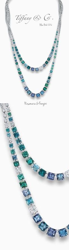 Rosamaria G Frangini | High Deep Blue Jewellery | TJS | Tiffany & Co. Blue Book 2016