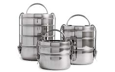 Tiffin Lunch Box Set, Steel-- the best!