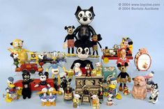 Vintage Toys ~ Characters ~ Felix The Cat