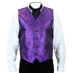 Showman Vest - Purple