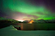 Reisebericht Nordlichter Urlaub Norwegen, Skifahren und Hundeschlittentouren in der Nähe von Tromso. Der beste Ort um die Nordlichter zu sehen. Urlaub in Tromsø