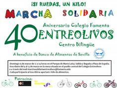 Marcha Solidaria 40 Aniversario Entreolivos | Colegio Entreolivos | Fomento de Centros de Enseñanza