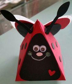 Stampin up - playful pals - lady bug by Dawn Watson.