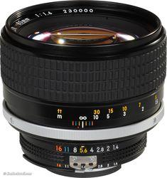 Nikon NIKKOR 85mm f/1.4 AI-s