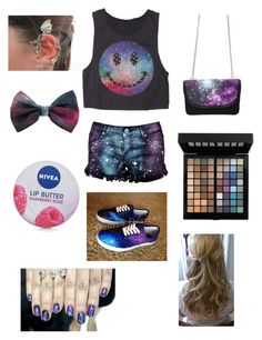 """Galaxy"" by lucy-munoz-11 ❤ liked on Polyvore featuring Nordstrom and Nivea"