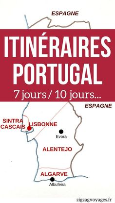 Pin Road Trip Portugal Itineraire 7 jours - Circuit Portugal Voyage