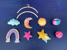 Excited to share this item from my #etsy shop: Galaxy themed baby mobile, planets, galaxy room decor, planet mobile Galaxy Room, Galaxy Art, Decor Planet, Planet Mobile, Protea Flower, Rainbow Decorations, Homemade Christmas, Felt Flowers, New Baby Gifts