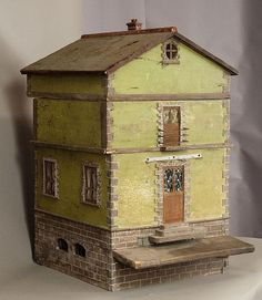 Rare Antique French Country House Bee Hive by AspenMountainVintage.  a functional doll house!