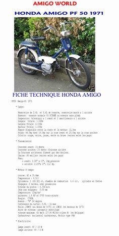 fiche technique honda amigo pf 50 cyclomoteur velomoteur mobylette hondaamigo.be.ma honda-amigo.be.ma, moped parts pf50,camino, honda camino, pf50