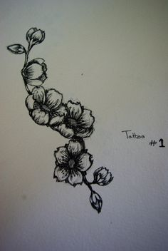 next tat like that but with wild rose