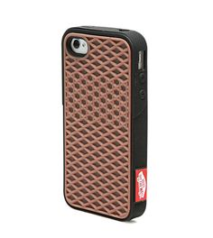 iPhone 4/4S Vans Waffle Case Black by ViolettasPhoneCrafts on Etsy, $14.95