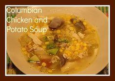 Columbian Chicken and Potato Soup....yum