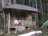 Shishi Lions' heads & Konoteido Tea House carved and built by Johnny Wales