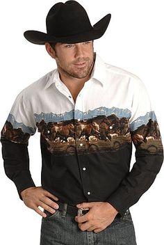 Men's Western Cowboy Clothing