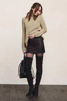 30 Buys You Basically NEED From The Reformation Sale #refinery29  http://www.refinery29.com/2015/08/92497/reformation-summer-sale#slide-25  Everyone needs a LBS (little black skirt) for fall. ...