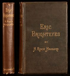'Eric Brighteyes' by Henry Rider Haggard; illustrated by Lancelot Speed. Longmans, Green, and Co. H Rider Haggard, English Writers, London, Books, Illustration, Green, Movies, Livros, Big Ben London