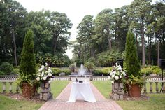 Purple Norfolk Botanical Garden Wedding by Lindsay Fauver Photography