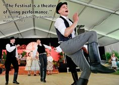 """""""The Festival is a theater of living performance"""""""