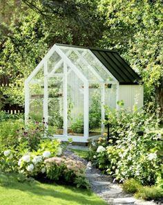 Peaceful And Cozy Nordic Garden Décor Ideas