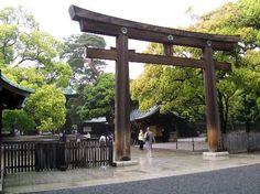 Meiji Shrine entrance. (1867813)