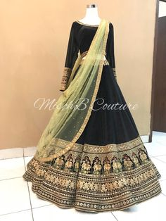 Traditional lehenga by mischb couture