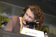 SUPERNATURAL consulting producer Ben Edlund talks about the hit series during the panel at Comic-Con 2012.